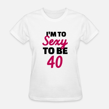 40s 40 Birthday - Women's T-Shirt