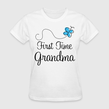 First Time Grandma Announcement - Women's T-Shirt