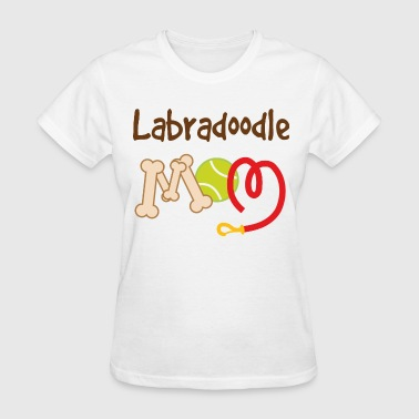 Labradoodle Dog Mom - Women's T-Shirt