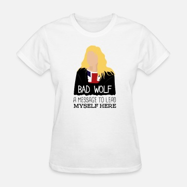 Doctor Who And Rose Rose Tyler Bad Wolf - Doctor Who - Women's T-Shirt