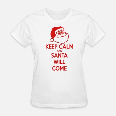 Santa Keep Calm - Women's T-Shirt