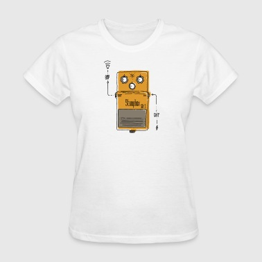 stompbox geek - Women's T-Shirt