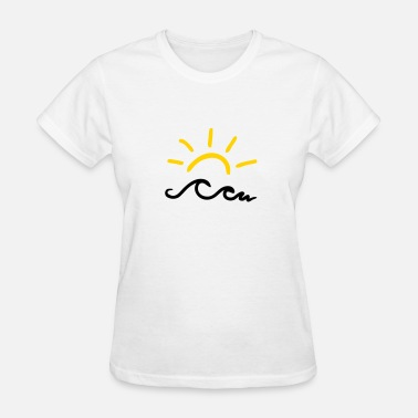 Sun Studio Sun and waves - Women's T-Shirt