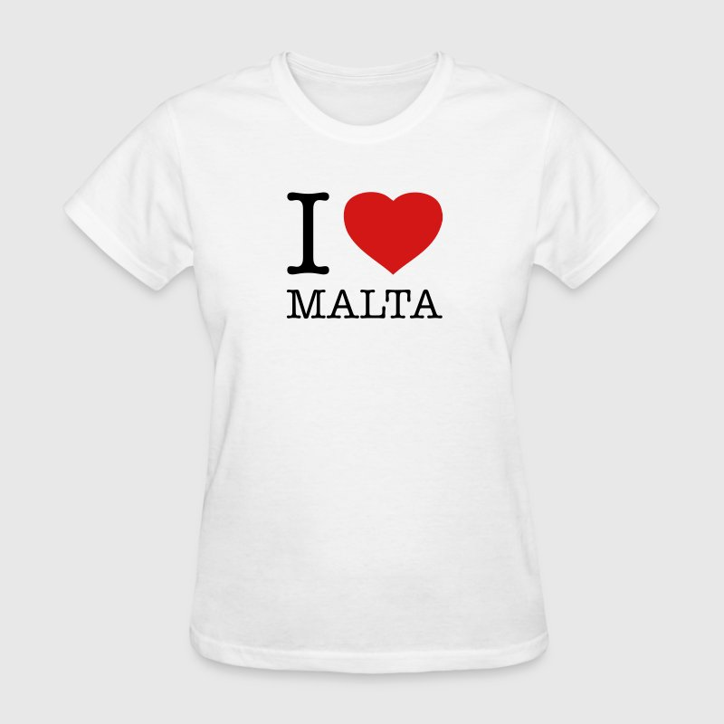 I LOVE MALTA - Women's T-Shirt