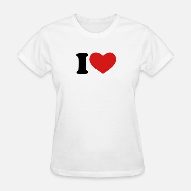 I Love I Love / I Heart - Women's T-Shirt