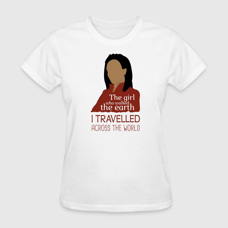 Martha Jones The Girl Who Walked The Earth - Docto - Women's T-Shirt
