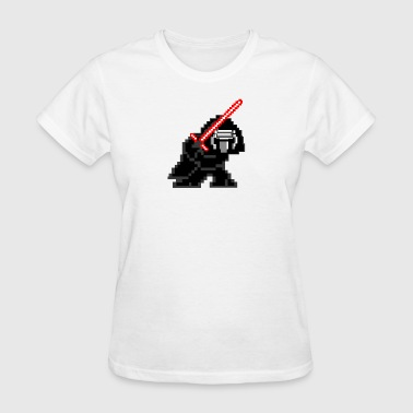 Millennium Force 8-bit Kylo Ren - Women's T-Shirt