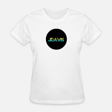 Branding Writing Jdavis brand - Women's T-Shirt