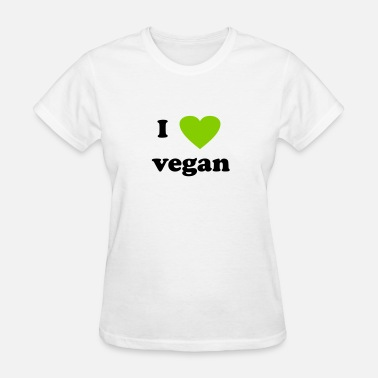 I Heart Vegan I heart vegan - Women's T-Shirt
