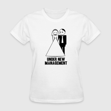 under new management 2c - Women's T-Shirt