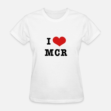 I Love Mcr I heart Manchester - Women's T-Shirt