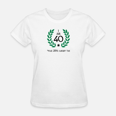Luxury 50 - 40 plus tax - Women's T-Shirt