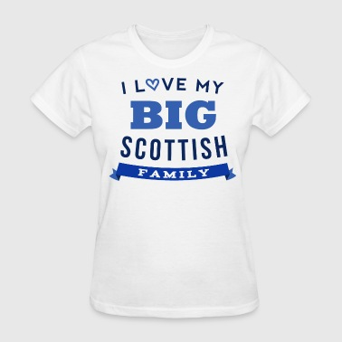 Scottish Family Scotland - Women's T-Shirt