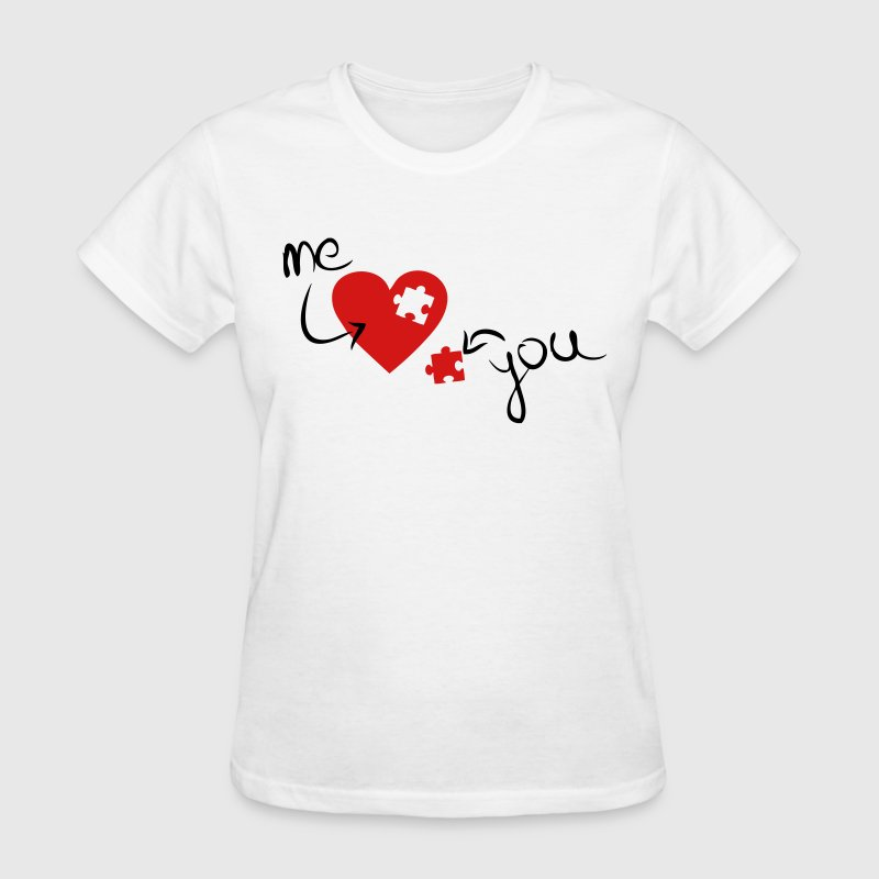 Missing Piece To My Heart - Women's T-Shirt