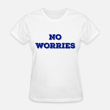 No Worries NO WORRIES NAVY - Women's T-Shirt