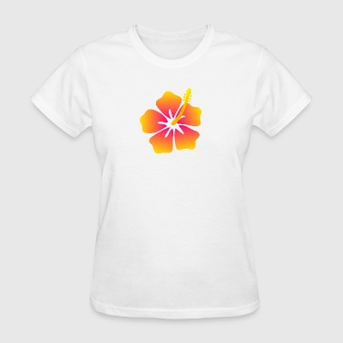 hibiscus 2 - Women's T-Shirt