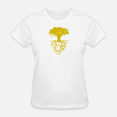 Rina Arling Design Golden Ghanian Roots - Women's T-Shirt
