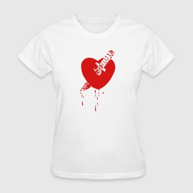 Knife In The Heart Knife Through Heart - Women's T-Shirt