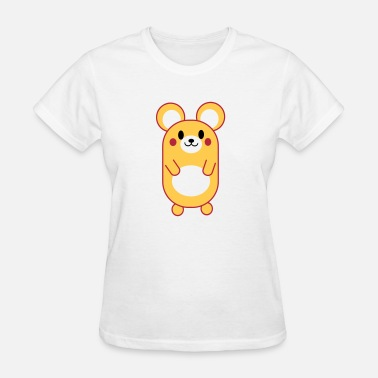 Cute Cartoon Cute Anime / Manga / Cartoon Mouse - Women's T-Shirt