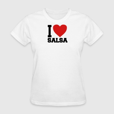 i love salsa - Women's T-Shirt