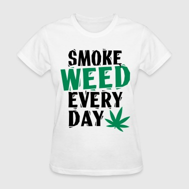 SmokeWeedEveryDay  LinoVe - Women's T-Shirt