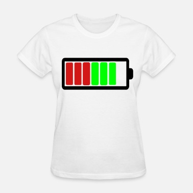 Low Battery Icon Battery Icon - Women's T-Shirt