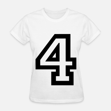 Number 4 Number 4 - Women's T-Shirt