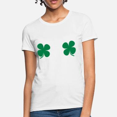 Breasts Saint Patricks day t-shirt - Women's T-Shirt