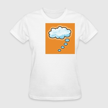 thought cloud thinking - Women's T-Shirt