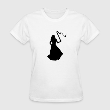 Bride, Woman & Whip - Women's T-Shirt