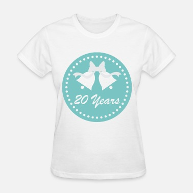 20th Wedding Anniversary 20th Wedding Anniversary - Women's T-Shirt