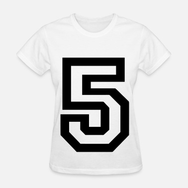 Big 5 Number 5 - Women's T-Shirt