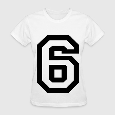 Number 6 Number 6 - Women's T-Shirt