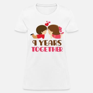 Shop 9 Year Anniversary Gift T Shirts Online Spreadshirt