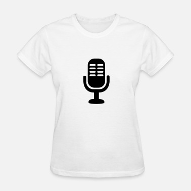 Microphones Band Microphone - Women's T-Shirt