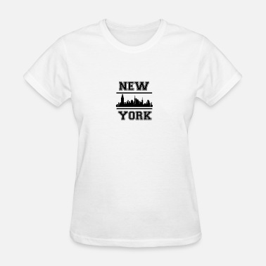 I Love Ny 3461785_16160500_skyline_ny_3_orig - Women's T-Shirt