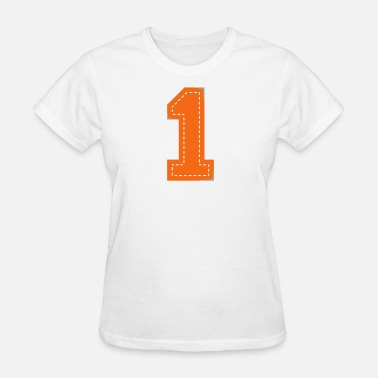 Supermom Number One Patch - Women's T-Shirt