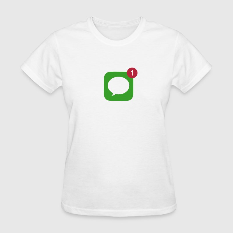 1 Unread Message - Women's T-Shirt