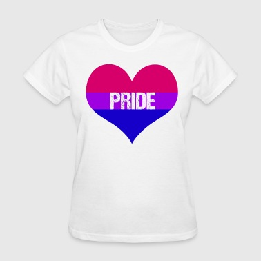 Bisexual Heart - Women's T-Shirt
