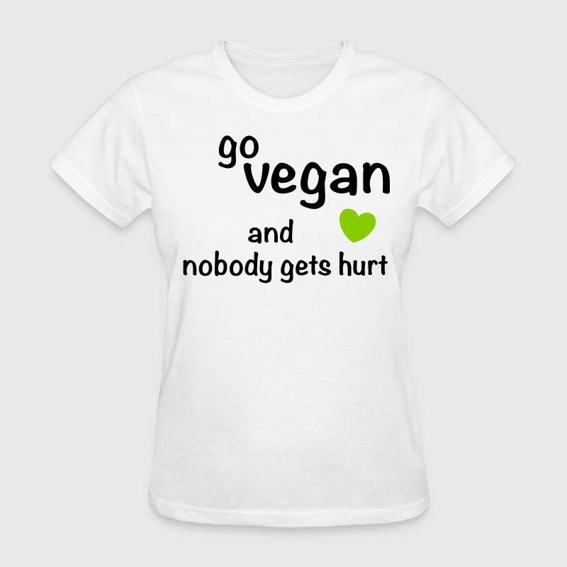 go-vegan - Women's T-Shirt