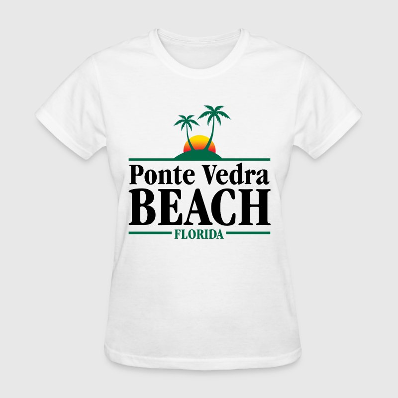 Ponte Vedra Beach Florida - Women's T-Shirt
