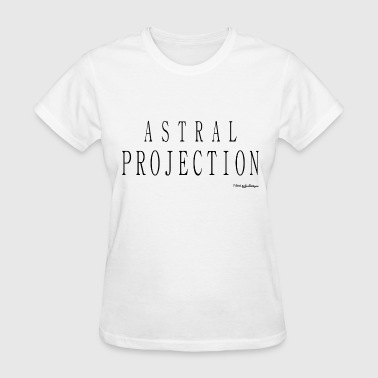 Astral Projection Astral Projection v2 T Shirts - Black - Women's T-Shirt
