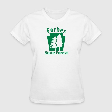 Forbes State Forest Keystone (w/trees) - Women's T-Shirt