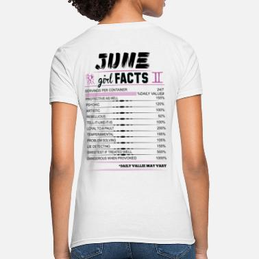Gemini June Girl Facts Gemini - Women's T-Shirt