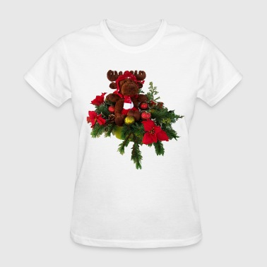 Christmas Moose Christmas Moose - Women's T-Shirt