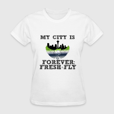 Represent My City My City blk - Women's T-Shirt