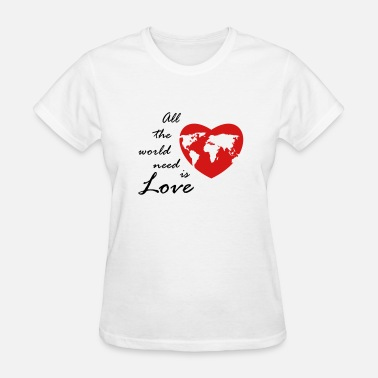 worldlove - Women's T-Shirt