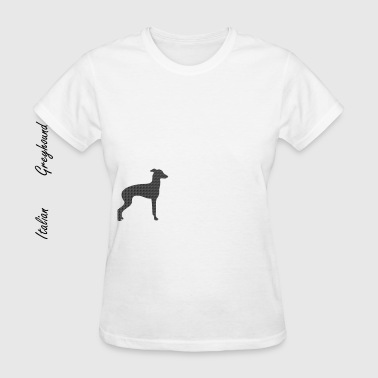 italian greyhound silhouette - Women's T-Shirt