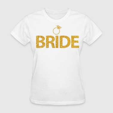 Bride With Ring Golden - Women's T-Shirt