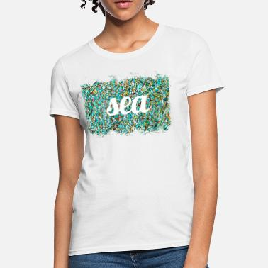 colorful mosaic pattern - Women's T-Shirt
